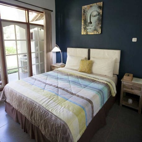 Tetebatu - Les Rizieres Lombok - Standard double room with garden view