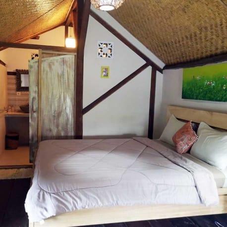 Tetebatu - Les Rizieres Lombok - Duplex double room
