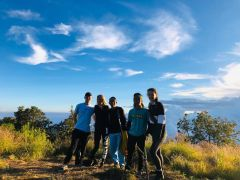 Make new friends during the Tetebatu hike